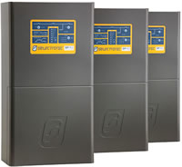 Image of three SP PRO inverters multiphase