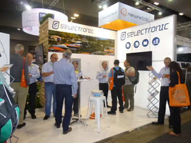 Selectronic's stand at All Energy
