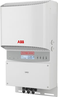 Abb grid tied inverter 5. 8kw at rs 105000 /number | abb solar.