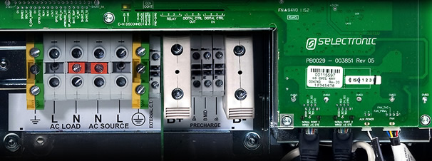 Image of SP PRO AC connections