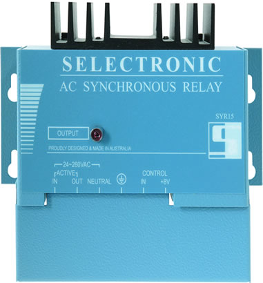 Selectronic SYR15 Synchronous Relay